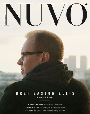 """""""I really degrade myself a lot. It's part narcissism and part defence mechanism,"""" says Bret Easton Ellis. The author and screenwriter discusses his literary works, his controversial Twitter ramblings, and his upcoming film The Canyons in the summer issue of NUVO, on newsstands May 27. www.nuvomagazine.com. (CNW Group/NUVO Magazine Ltd.)"""