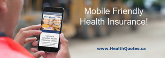 HealthQuotes.ca Announces Mobile Friendly, Responsive Design Website (CNW Group/HealthQuotes.ca Inc.)
