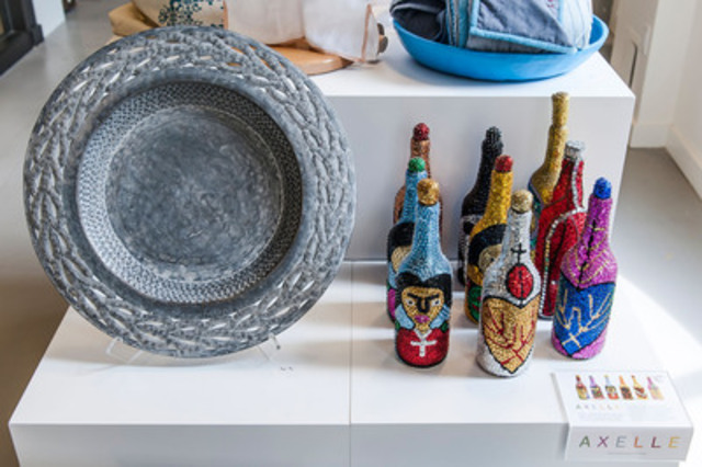 Home decor items from the BRANDAID Haiti Project Collection made by Master Artisans of Haiti. Available at Hudson's Bay. (CNW Group/BRANDAID Project Inc.)