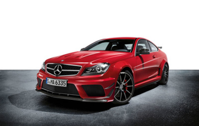2012 Mercedes-Benz C 63 AMG Coupe Black Series (CNW Group/Mercedes-Benz Canada Inc.)