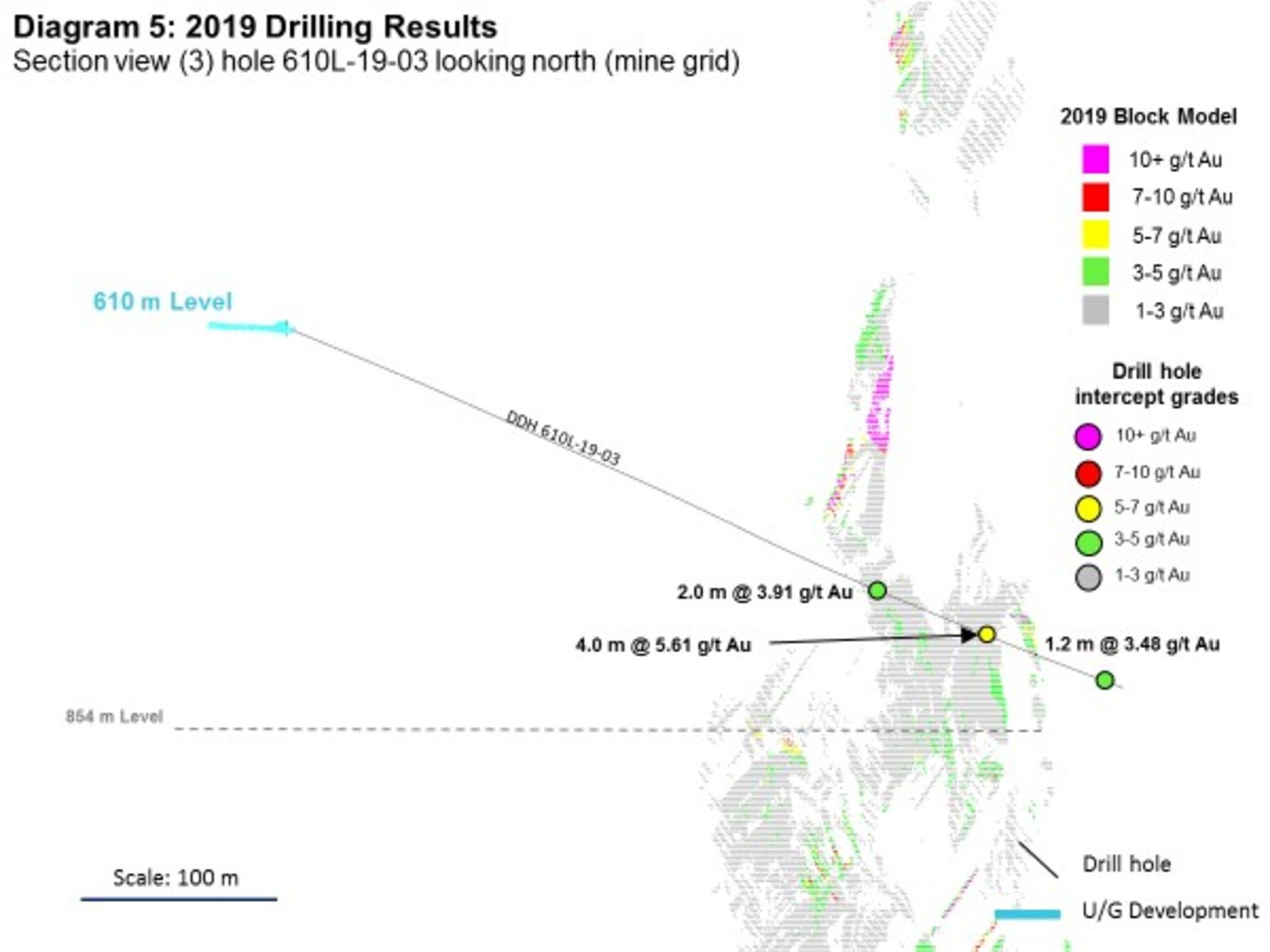 Diagram 5: 2019 Drilling Results