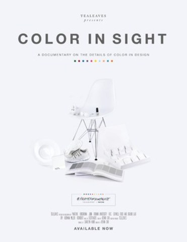 Color In Sight: A Documentary on the Details of Color in Design by TEALEAVES - Poster (CNW Group/TEALEAVES)