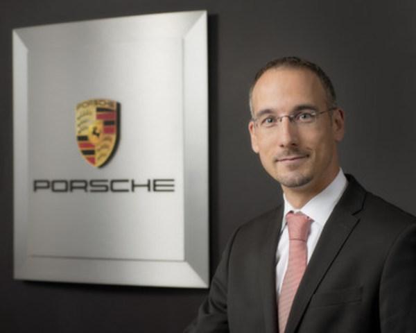 Thomas Illner devient le directeur aux ventes au sein d'Automobiles Porsche Canada, à compter du 2 septembre 2016. (Groupe CNW/Automobiles Porsche Canada)