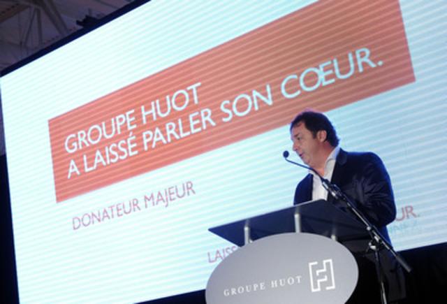 M. Stephan Huot, président du Groupe Huot (Groupe CNW/Groupe Huot)
