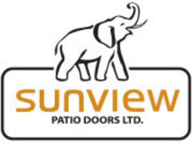 Sunview Patio Doors (CNW Group/Sunview Patio Doors)