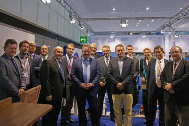 Davie nomme un réseau mondial d'agences alors qu'il entre à nouveau sur le marché de la réparation navale. (Groupe CNW/Chantier Davie Canada Inc.)