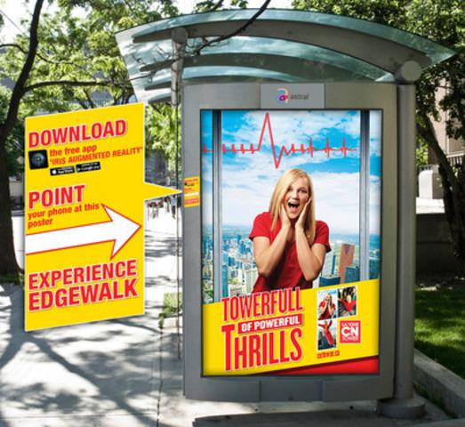 CN Tower Edgewalk AR Experience. (CNW Group/Astral Media Inc.)