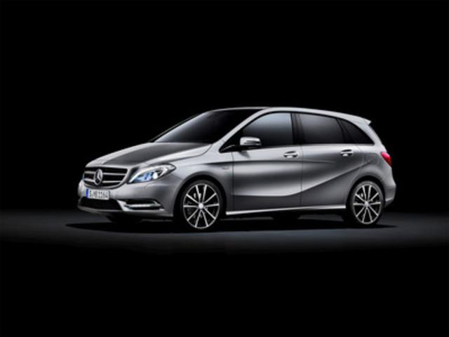 2013 Mercedes-Benz B-Class (CNW Group/Mercedes-Benz Canada Inc.)