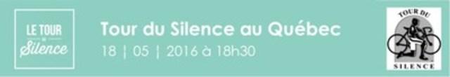 Logo : Tour du Silence 2016 (Groupe CNW/Société de l'assurance automobile du Québec)