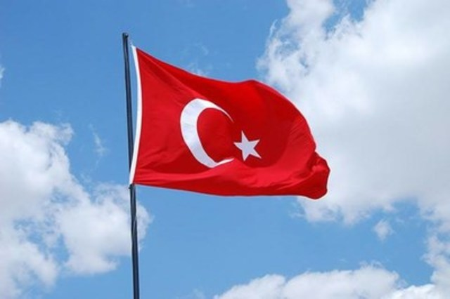 Flag of Turkey. (CNW Group/Canadian Journalists for Free Expression)
