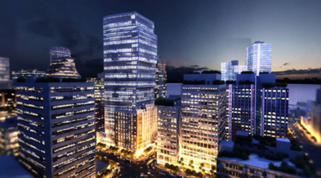 Video: The Exchange office tower in Vancouver by Credit Suisse Real Estate Asset Management.