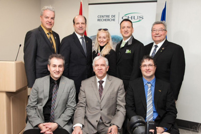 Minister Rickford Highlights Major Milestone in Medical Isotope Strategy The Honourable Greg Rickford, Canada?s Minister of Natural Resources, announces a major milestone in medical isotope research and development funded by the Harper Government on Monday, February 16, 2015, at the Centre hospitalier universitaire de Sherbrooke, in Sherbrooke, Quebec. (CNW Group/Natural Resources Canada)