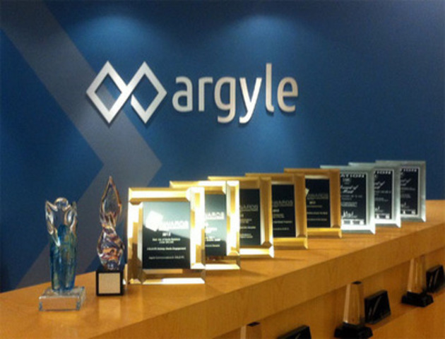 Argyle PR has earned 16 local, national and global industry awards in the last year. (CNW Group/Argyle Communications)