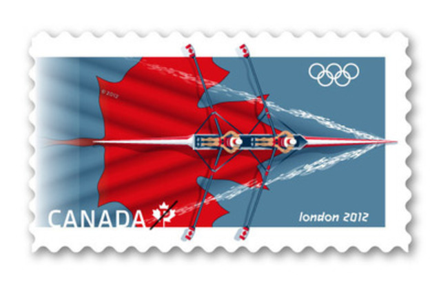 London 2012 Olympic stamp (CNW Group/Canada Post)