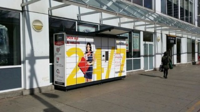 InPost 24/7 Lockers are placed in high traffic locations to provide 24/7 access to customers picking up parcels  ...