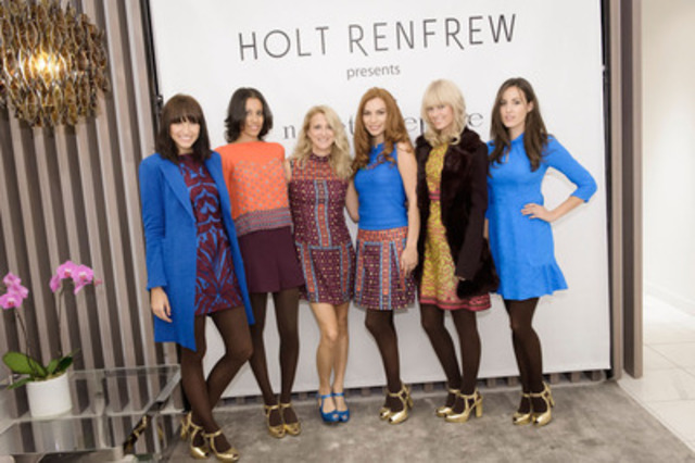 New York based Designer Nanette Lepore visits Holt Renfrew in Calgary for the first time to show her Fall and ...