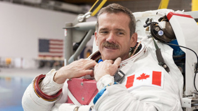 Chris Hadfield (CNW Group/Canadian Friends of the Hebrew University of Jerusalem)