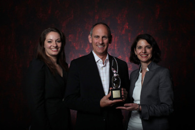 Marketing Communication Gold - Massy Forget Langlois R.P. (CNW Group/Canadian Public Relations Society)
