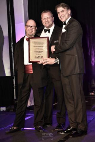 Patrick Leroux a été intronisé au temple de la renommée des conférenciers professionnels du Canada (Groupe CNW/Patrick Leroux)