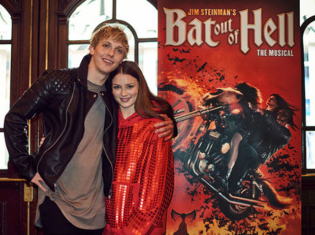Leading the Bat Out Of Hell –- The Musical cast are newcomer Andrew Polec and Christina Bennington (CNW Group/Bell Media)