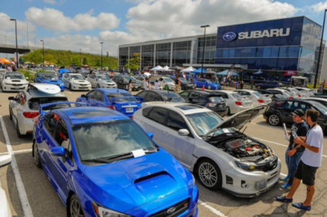 Tous les ans, le Hyper Meeting amasse des fonds pour le Manoir Ronald McDonald de Toronto (RMH). Cette année, le TSC a amassé 18 000 $ pour le Manoir et Subaru Canada a contribué une somme équivalente, ce qui porte le total à 36 000 $. (Groupe CNW/Subaru Canada Inc.)