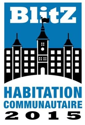 Blitz pour l'habitation communautaire. (Groupe CNW/Réseau québécois des OSBL d'habitation (RQOH))