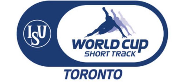 Coupe du monde sur courte piste de l'ISU 2015 à Toronto (Groupe CNW/Patinage de vitesse Canada)