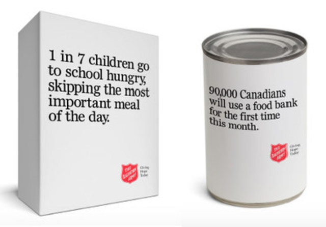 Salvation Army 'Open House' highlights key facts about poverty in Canada, such as one in seven children  ...
