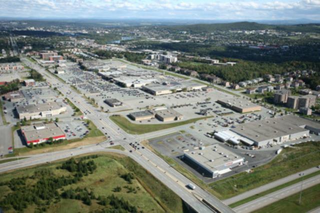 Ivanhoé Cambridge acquiert un intérêt de 50 % dans le Carrefour de l'Estrie à Sherbrooke, au Québec en coentreprise avec l'Office d'investissement du régime de pensions du Canada (Groupe CNW/Ivanhoé Cambridge)