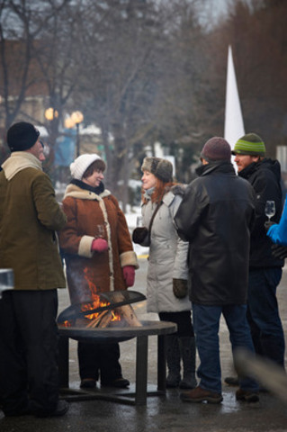 Jordan Outdoor Icewine Street Festival 2013 (CNW Group/Wine Country Ontario)