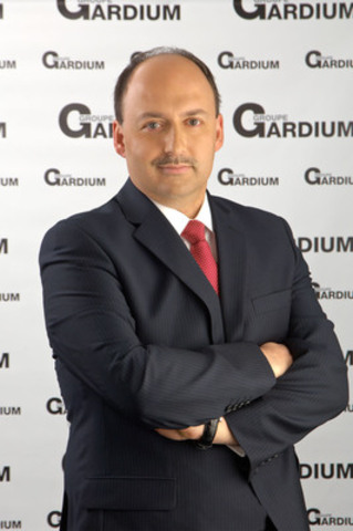 Dany Laflamme, new president and CEO of Groupe Gardium. (CNW Group/Gardium Group)