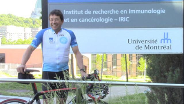 Robert Patenaude, porte-parole de l'IRIC (Groupe CNW/Institut de recherche en immunologie et en cancérologie de l'Université de Montréal)