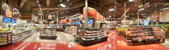 Ready-to-eat and ready-to-cook sections, sushi counter and a full-fledged pizzeria at the all-new Duchemin Family IGA extra! (CNW Group/Sobeys Québec)