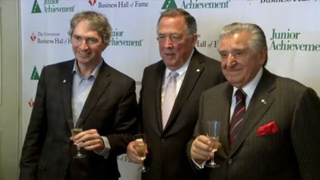 Video:  CANADIAN BUSINESS HALL OF FAME INDUCTEES ANNOUNCED
