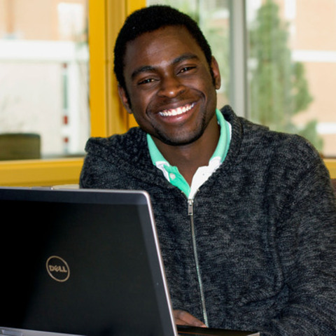Allen Kawanzaruwa, is a MasterCard Foundation Scholar from Zimbabwe currently studying at Arizona State University. (CNW Group/The MasterCard Foundation)
