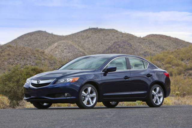 The all-new 2013 Acura ILX has received the highest possible safety rating of TOP SAFETY PICK from the ...