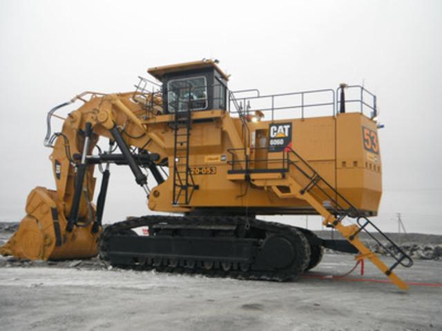 Pelle hydraulique minière 6060 FS (Groupe CNW/Hewitt Équipement Limité)