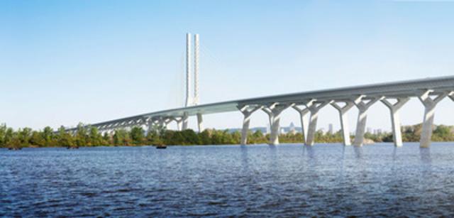 Un consortium dirigé par SNC-Lavalin obtient le projet de corridor du nouveau pont Champlain (Groupe CNW/SNC-Lavalin)