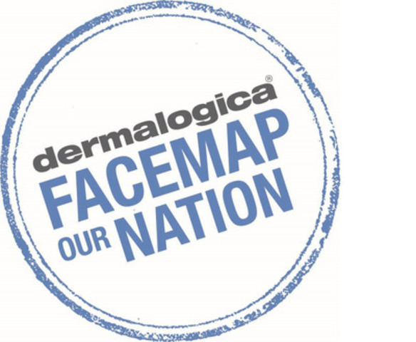 Dermalogica - Face Map our Nation (CNW Group/Dermalogica)