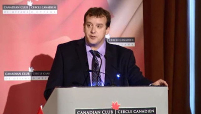 Video: Address given by Dr. Christopher Simpson, President of the Canadian Medical Association at the Canadian Club of Ottawa, Nov. 18, 2014 on seniors care - Part 3