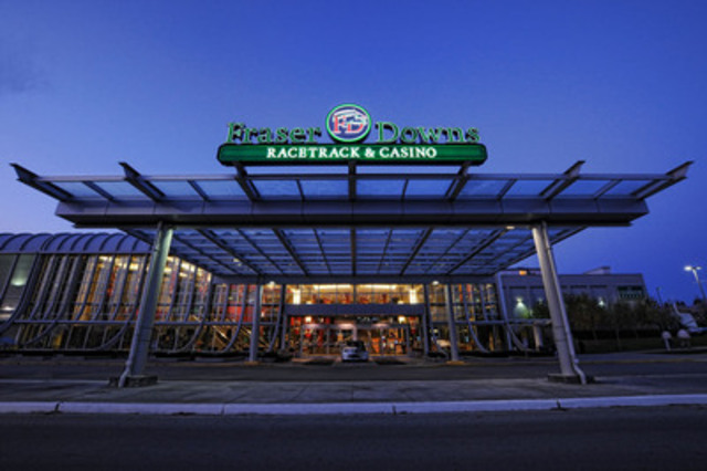Fraser Downs Racetrack and Casino will undergo a multi-million dollar renovation that will be completed by late 2015 (CNW Group/Fraser Downs Racetrack and Casino)