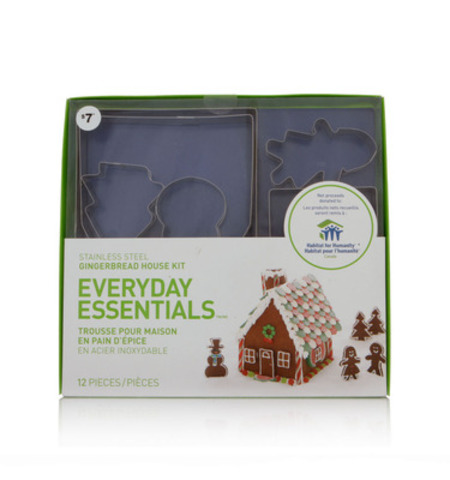 Everyday Essentials(TM) Habitat for Humanity Gingerbread House Kit ($7) (CNW Group/Loblaw Companies Limited)
