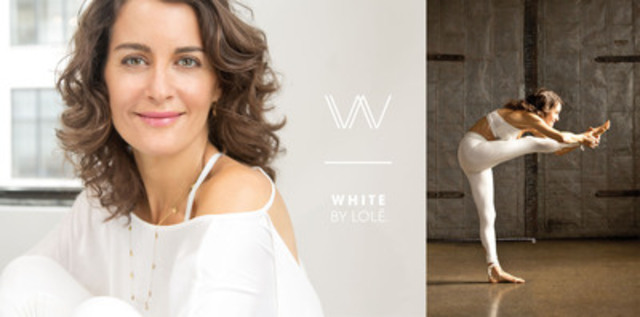 Lolë Launches WHITE BY LOLË™ (CNW Group/LOLE)