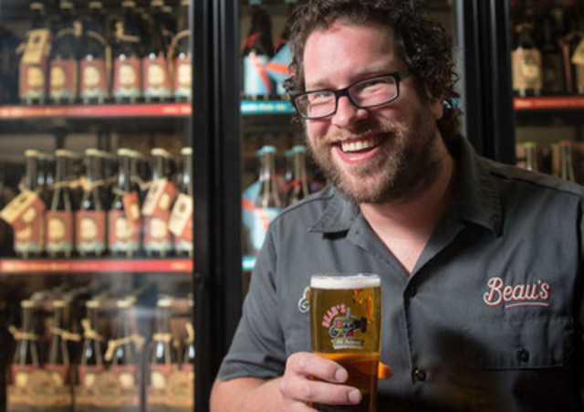 Beau's co-founder and CEO Steve Beauchesne (pictured), started Beau's All Natural Brewing in 2006 with his dad, Tim. (CNW Group/Beau's All Natural Brewing Company, Ltd)