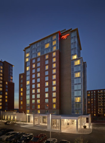 "Hampton Inn by Hilton Halifax Downtown Launches """"Take the Stairs"""" Campaign"" (CNW Group/SilverBirch Hotels & Resorts)"