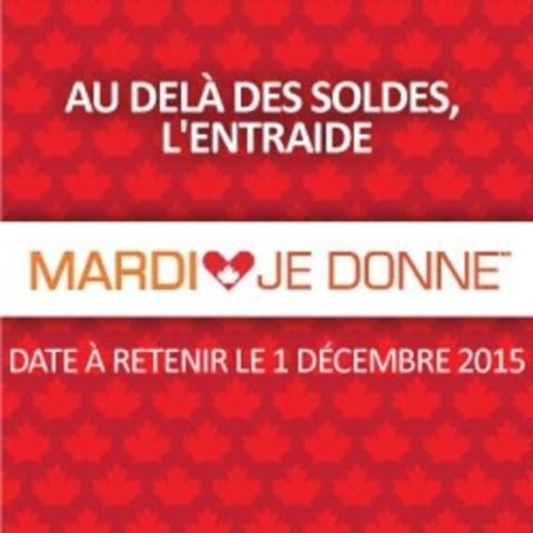 MardiJeDonne (Groupe CNW/Mardi je donne)