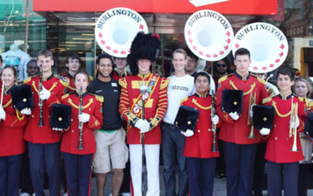 Strum & Acclaimed Marching Band Trumpet Employee Excellence (CNW Group/Charming Media Inc.)
