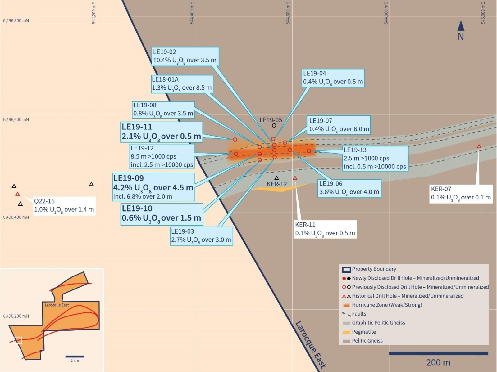 Figure 2 – Hurricane Zone Detailed Planview