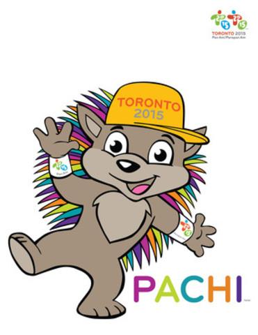 Pachi (Groupe CNW/Jeux pan/parapanaméricains de Toronto 2015)