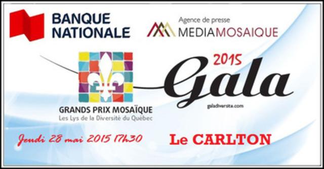 La Banque Nationale devient « Commanditaire présentateur » des Grands Prix Mosaïque 2015 (Groupe CNW/MÉDIA MOSAÏQUE)